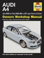 Haynes 4885 Workshop Repair Manual Audi A4 05 - 08